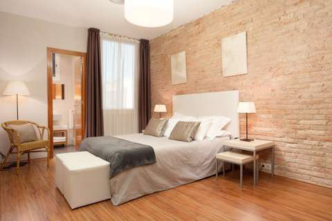 Apartments barcelona - bedroom of the apartment Sant Pau 4