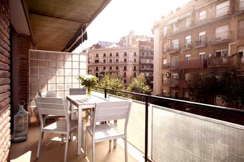 Corcega 2 barcelona apartment - terrace